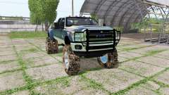 Ford F-350 Super Duty Crew Cab mud truck for Farming Simulator 2017