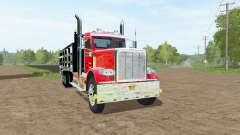 Peterbilt 388 stake bed for Farming Simulator 2017