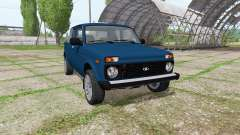 LADA Niva (2329) v1.1 for Farming Simulator 2017