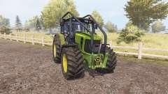 John Deere 7530 Premium forest for Farming Simulator 2013