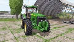 John Deere 8220 v4.0 for Farming Simulator 2017