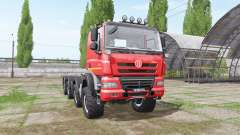 Tatra Phoenix T158 8x8-6 hooklift for Farming Simulator 2017