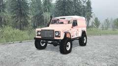 Land Rover Defender 90 Hard Top for MudRunner
