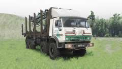 KamAZ 63501 Mustang for Spin Tires