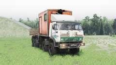 KamAZ 63501 Mustang v1.1 for Spin Tires