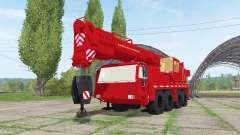 Liebherr LTM 1090-2 sapeur-pompier v2.0 for Farming Simulator 2017