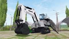 Liebherr R 9200 backhoe attachment for Farming Simulator 2017