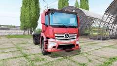 Mercedes-Benz Antos 2540 hooklift