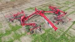 Lely Hibiscus 1515 CD Profi for Farming Simulator 2017