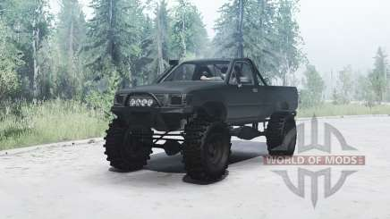 Toyota Hilux Single Cab 1994 for MudRunner