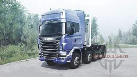 Scania R730 10x10 for MudRunner