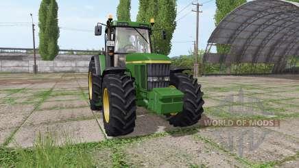 John Deere 7710 v2.0 for Farming Simulator 2017