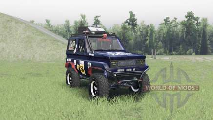 Toyota Land Cruiser 70 v1.1 for Spin Tires
