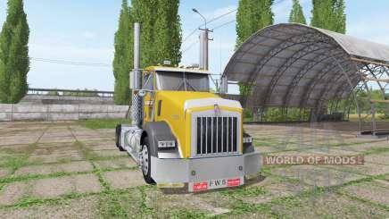 Kenworth T800 cat edition for Farming Simulator 2017