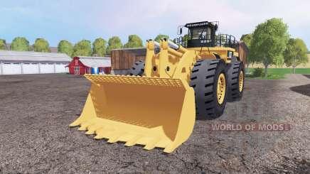 Caterpillar 994F v1.1 for Farming Simulator 2015