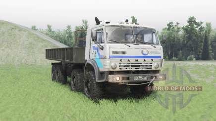 KamAZ 63501 Mustang v1.2 for Spin Tires
