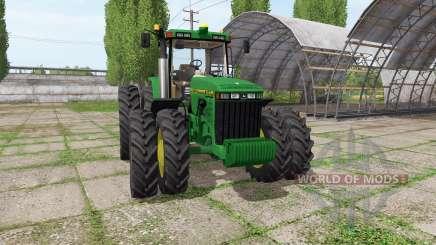 John Deere 8400 v1.0.2 for Farming Simulator 2017