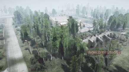 The village of TES v1.01 for MudRunner