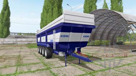 Visini Tetra XL D4-950 for Farming Simulator 2017