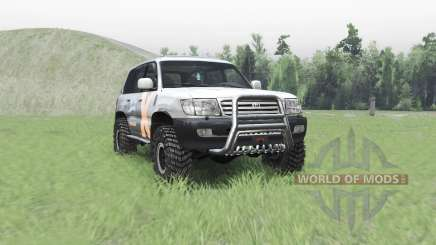 Toyota Land Cruiser 105 v4.1 for Spin Tires