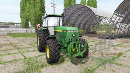John Deere 4850 v3.0 for Farming Simulator 2017
