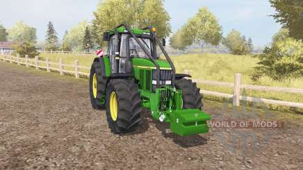 John Deere 7810 forest for Farming Simulator 2013