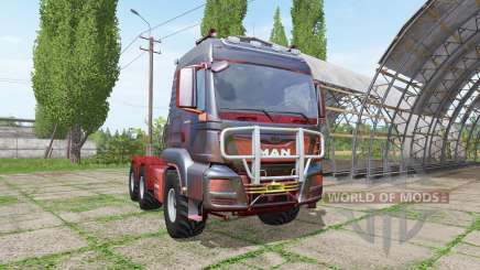 MAN TGS 18.440 redlight v2.0 for Farming Simulator 2017