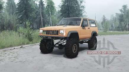 Jeep Cherokee (XJ) 1990 for MudRunner