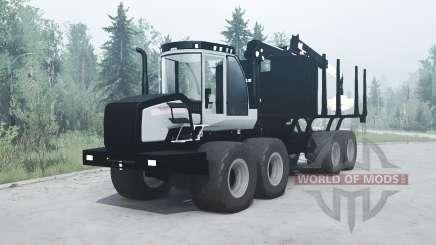 Logset 12F GT for MudRunner