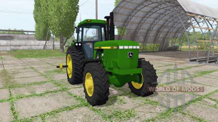 John Deere 4555 for Farming Simulator 2017
