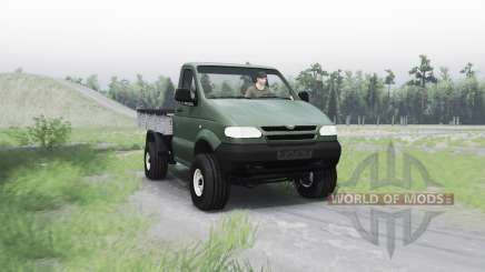 UAZ 2365 for Spin Tires