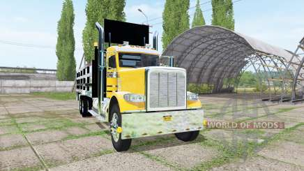 Peterbilt 388 stake bed v1.1 for Farming Simulator 2017