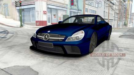 Mercedes-Benz SL 65 AMG Black Series (R230) 2008 for BeamNG Drive