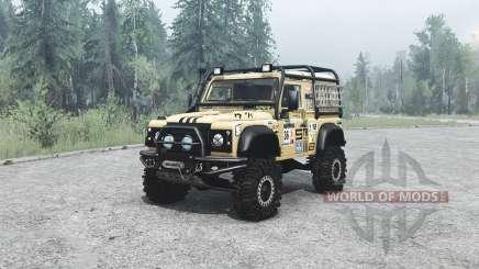 Land Rover Defender 90 off-road for MudRunner