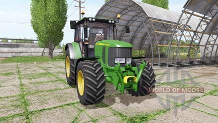 John Deere 6330 v3.0 for Farming Simulator 2017