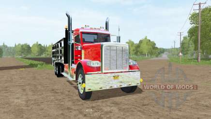Peterbilt 388 stake bed for Farming Simulator 2017