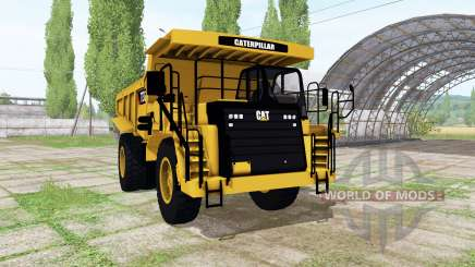 Caterpillar 773G v1.2 for Farming Simulator 2017