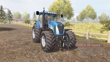 New Holland T8050 v3.0 for Farming Simulator 2013