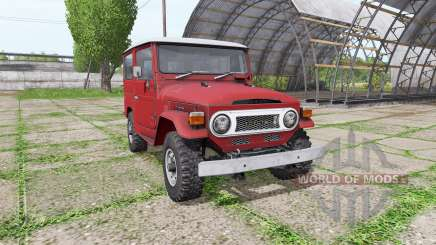 Toyota Land Cruiser Hard Top (BJ40VL) for Farming Simulator 2017