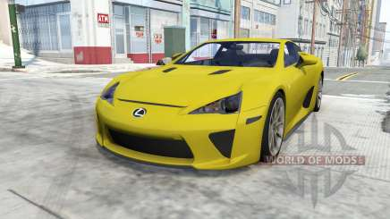Lexus LFA for BeamNG Drive