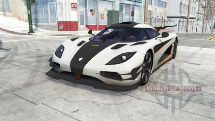 Koenigsegg One1 2014 for BeamNG Drive