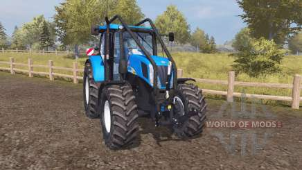 New Holland T7050 forest for Farming Simulator 2013
