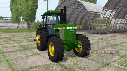 John Deere 4250 for Farming Simulator 2017