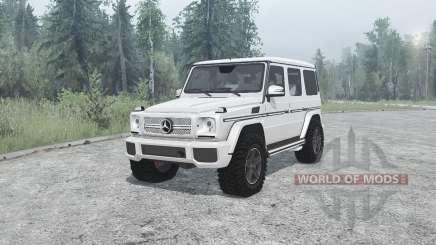 Mercedes-Benz G 65 AMG (W463) for MudRunner