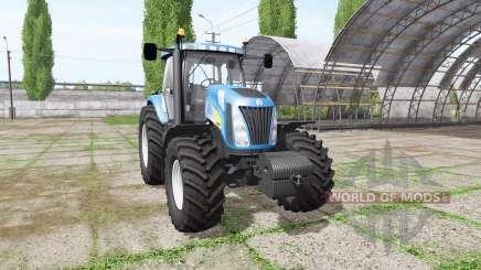 New Holland TG255 v4.0 for Farming Simulator 2017