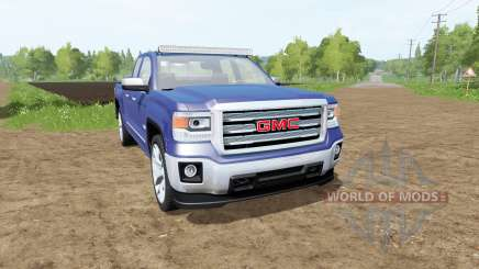 GMC Sierra 1500 Double Cab (GMTK2) for Farming Simulator 2017