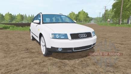 Audi A4 Avant (B6) for Farming Simulator 2017