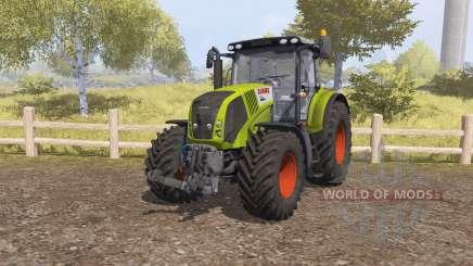 CLAAS Axion 850 v2.1 for Farming Simulator 2013