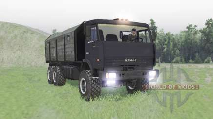 KAMAZ 65111 for Spin Tires