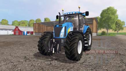 New Holland T8020 for Farming Simulator 2015